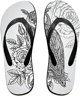7673b88db Kefanlk Unisex Sandy Flat Funny Flip Flops Thong Sandals Gold 4th of July Slipper  Top Mat