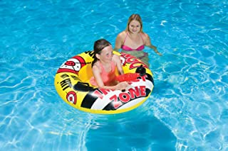 Poolmaster Bump N Squirt Swimming Pool Tube with Action Squirter, Yellow