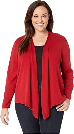 Plus Size Four-Way Cardy Heavierweight