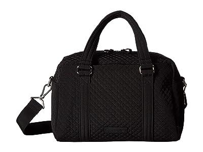 Vera Bradley 100 Handbag (Classic Black) Satchel Handbags