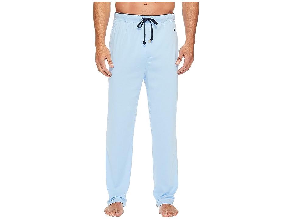Nautica Knit Sleep Pants (Noon Blue) Men