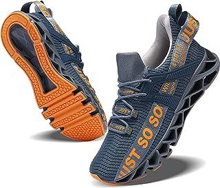 JSLEAP Zapatillas de correr para hombre y mujer, zapatillas deportivas, para correr, para caminar, correr, hacer deporte, ...