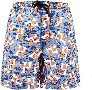 Jingclor Mens Beach Shorts Hawallan Beach Party Quick Drying Swim Trunks Boardshort With Pocket