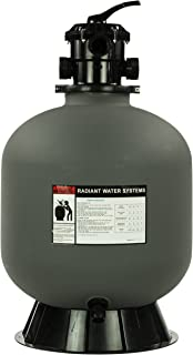 Rx Clear Radiant Sand Filter   for Above Ground Swimming Pool   22 Inch Tank   220 Lb Sand Capacity   Up to 26,000 Gallons