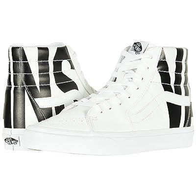 Vans SK8-Hitm ((Classic Tumble) Vans/True White) Skate Shoes