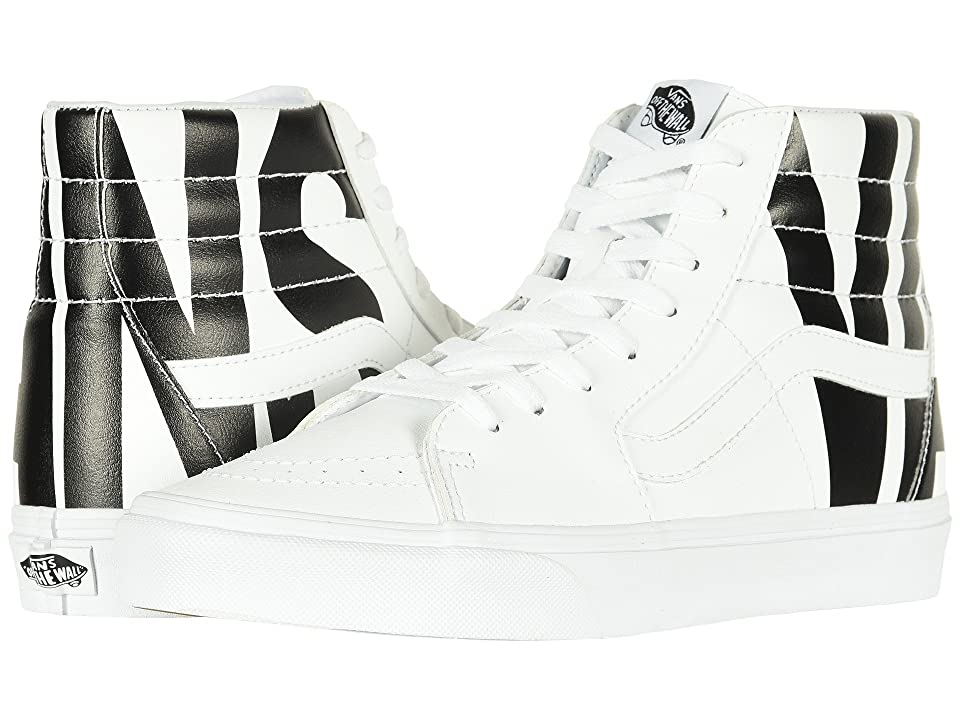 Vans SK8-Hitm ((Classic Tumble) Vans/True White) Skate Shoes