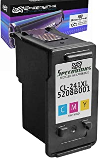 Speedy Inks Remanufactured Ink Cartridge Replacement for Canon CL-241XL High-Yield (Black)