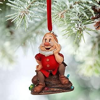 Disney Store Doc Sketchbook Ornament Snow White Dwarfs New for 2015
