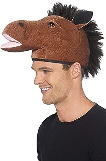 Smiffy's Men's Horse Hat with Mane