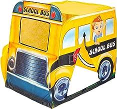 Explore Hut School Bus Play Tent