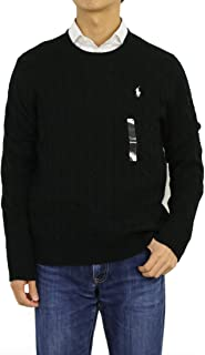 Polo Ralph Lauren Men's Pony Cable Knit Crewneck Sweaters