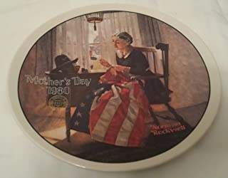 Norman Rockwell 1980 Mothers Day A Mothers Pride Plate