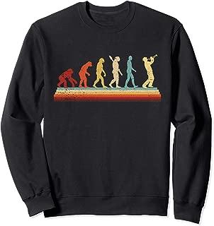 Evolution Trumpet  Retro Vintage Trumpet Player Gift Sweatshirt