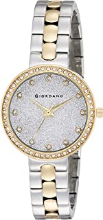 Giordano Analog Silver Dial Women's Watch- A2068-55