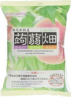マンナンライフ 蒟蒻畑 白桃味 (25g*12個) 1個
