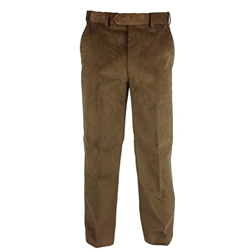 06a3f757 Mens Expanding Waist Needle Cord Trousers 32-46 Expand a Band Comfortable  Fit and Style