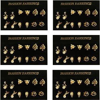 06a339dec0c1 Amazon.es: pendiente cadena oreja - 4 estrellas y más