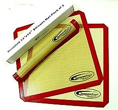 3-Pack Premium Silicone 14