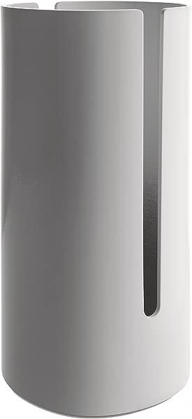 Alessi Birillo Toilet Paper Roll Container White PL18 W