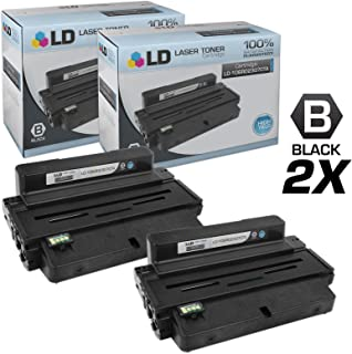 LD Compatible Toner Cartridge Replacement for Xerox Phaser 3320 106R02307 High Yield (Black, 2-Pack)