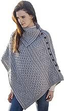 irish sweater poncho