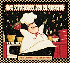 Home Is in the Kitchen 2017 Deluxe Wall Calendar