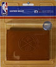 Rico Denver Nuggets NBA Embossed Leather Trifold Wallet