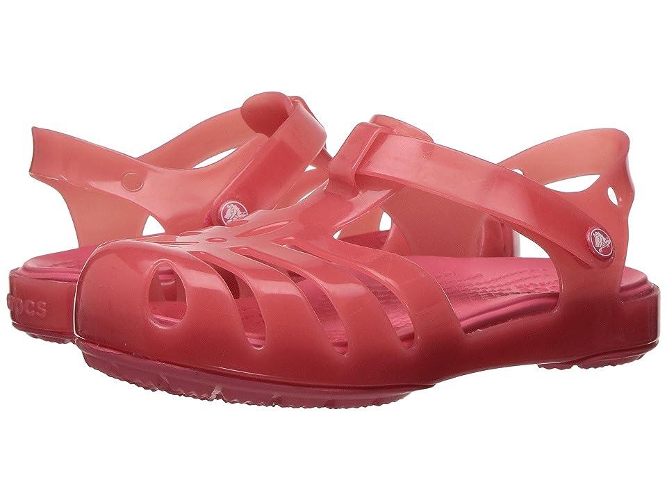 Crocs Kids Isabella Sandal PS (Toddler/Little Kid) (Coral) Girls Shoes