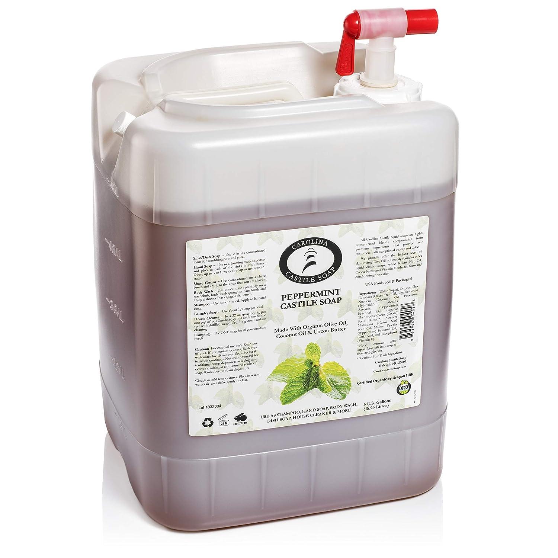 Carolina Peppermint Castile Soap Liquid Skin-Softening Sales Olive Tulsa Mall O –