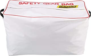 SEACHOICE 44980 Large-Capacity Heavy-Duty Emergency Marine Safety Gear Bag, White