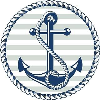 anchor window decal