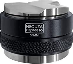 NEOUZA 53mm Coffee Distributor & Tamper 2 in 1,Dual Head Coffee Leveler Fits for 54mm Breville Portafilter, Adjustable Dep...