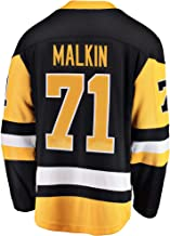 Outerstuff Evgeni Malkin Pittsburgh Penguin #71 Black Yellow Home Youth Premier Jersey