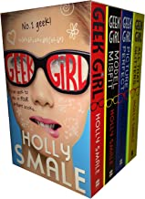 Geek Girl Series Holly Smale 4 Collection Books Boxed Set ( Picture Perfect, Model Misfit, Geek Girl, All That Glitters)
