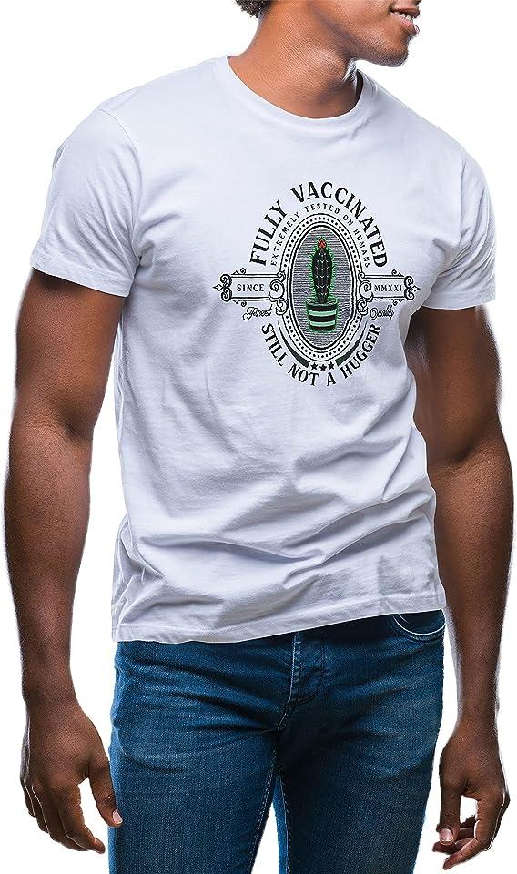 Fully Vaccinated Still Not Huger Herren T-Shirt