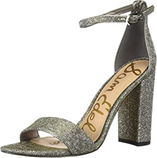 41d537ba298 Amazon.com  Silver Women s Heeled Sandals