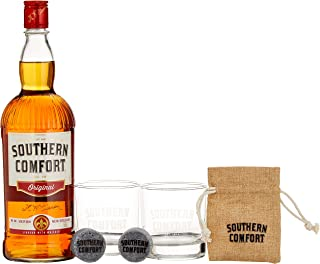 Southern Comfort Original inkl. Gläser und Kühlwürfel 1 x 1 l