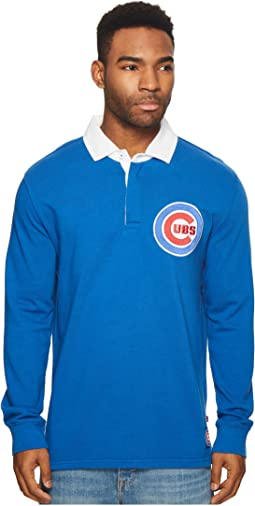 Levi's® Mens Chicago Cubs SLSC Rugby Solid Shirt