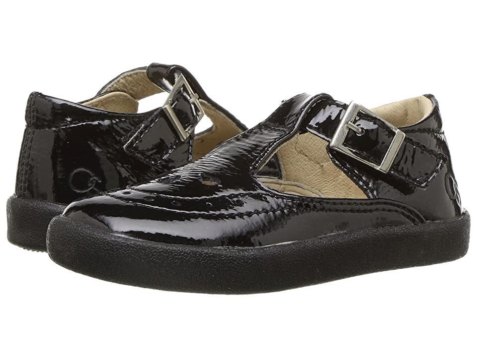 Old Soles Royal Shoe (Toddler/Little Kid) (Black Patent) Girl