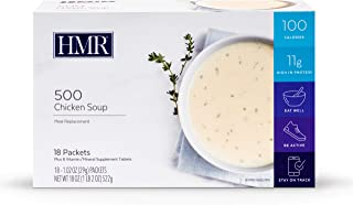 HMR 500 Chicken Soup, Meal Replacement, 100 Calories, Box of 18 Servings