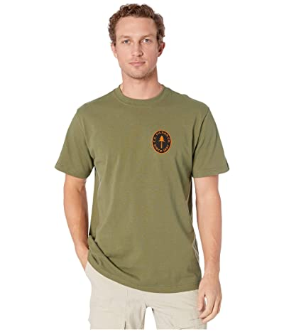 Filson Short Sleeve Outfitter Graphic T-Shirt (Burnt Olive Fir) Men