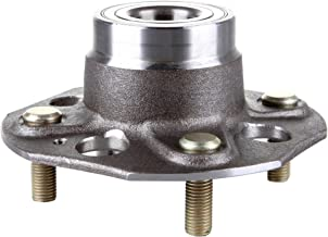 SCITOO Compatible with 512176 Rear Wheel Hub Bearing Assembly fit 1998-2002 Honda 4 Lugs