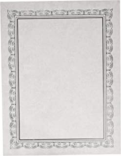 铝箔证书纸 - 银色 - 15 张