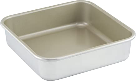American Kitchen Cookware Nonstick Square Cake Pan, 9 Inch