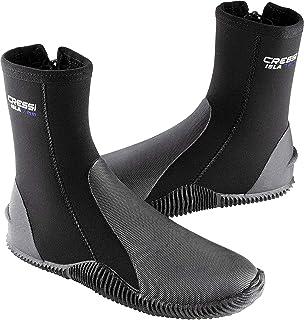 Cressi Isla 黑色带蓝色标志 7mm 高级氯丁橡胶靴