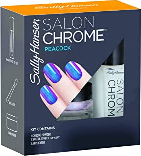 Sally Hansen Salon Chrome Nail Polish Kit, Peacock