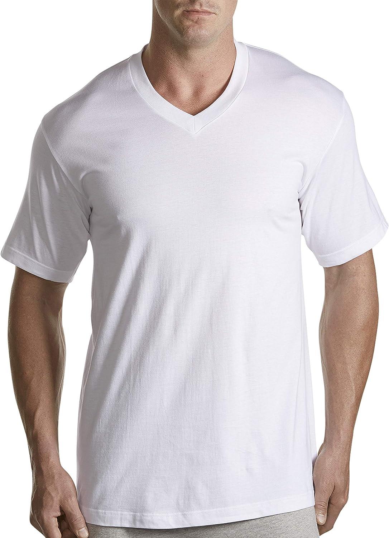 Harbor Bay by DXL Big and Tall 5-pk V-Neck T-Shirts