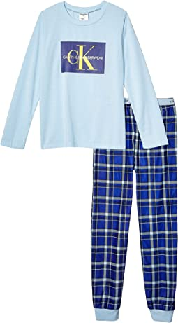 Angel Falls/CK Navy Plaid