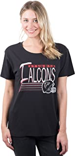 Ultra Game NFL Women`s S/S Scoop Tee Shirt w/ Logo