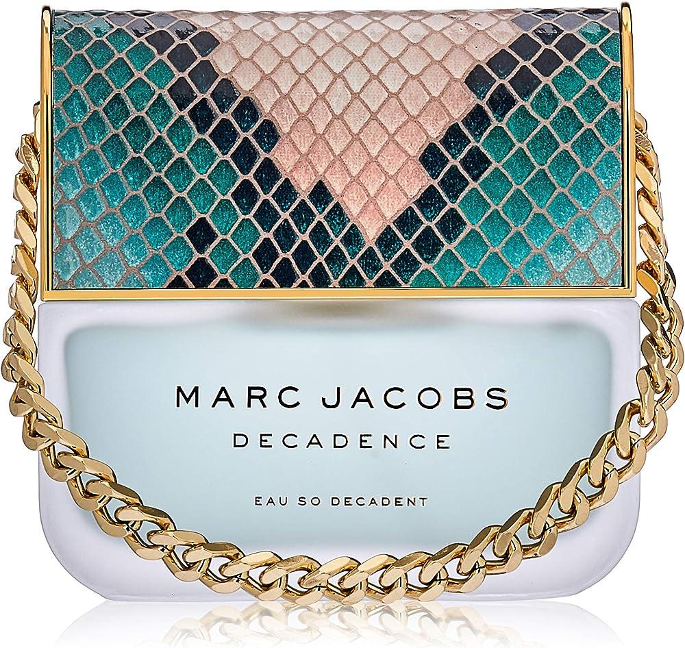 marc jacobs decadence eau so decadent, eau de toilette,profumo per donna, 100 ml 83954